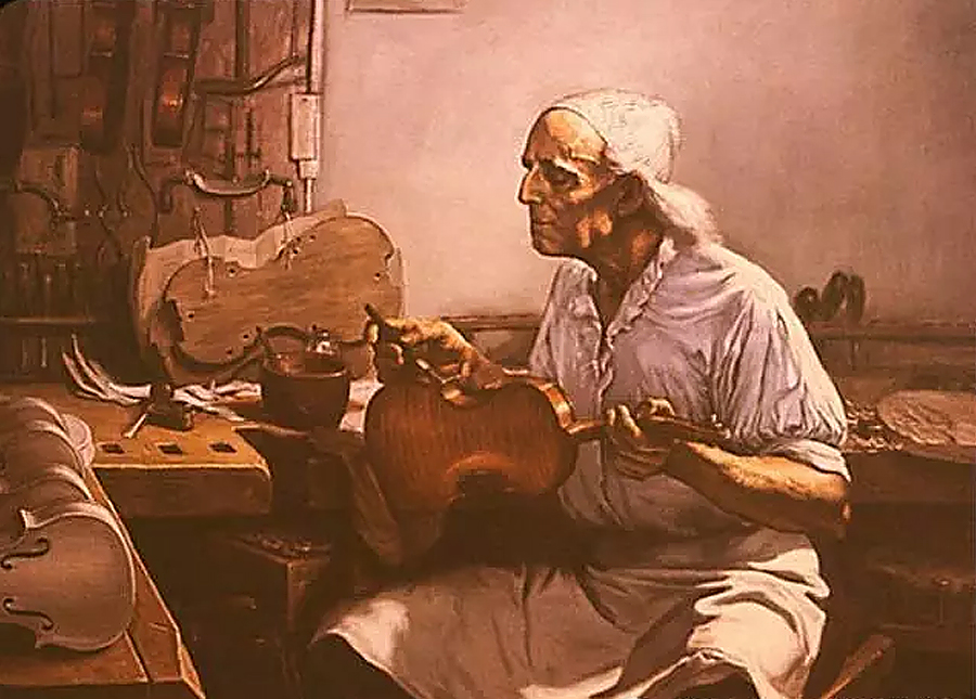 斯特拉迪瓦里在1680年于克雷蒙娜的圣多明尼克广场开设制作乐器的工作室
