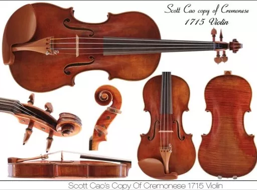 Scott Cao's Copy Of Cremonese 1715 Violin