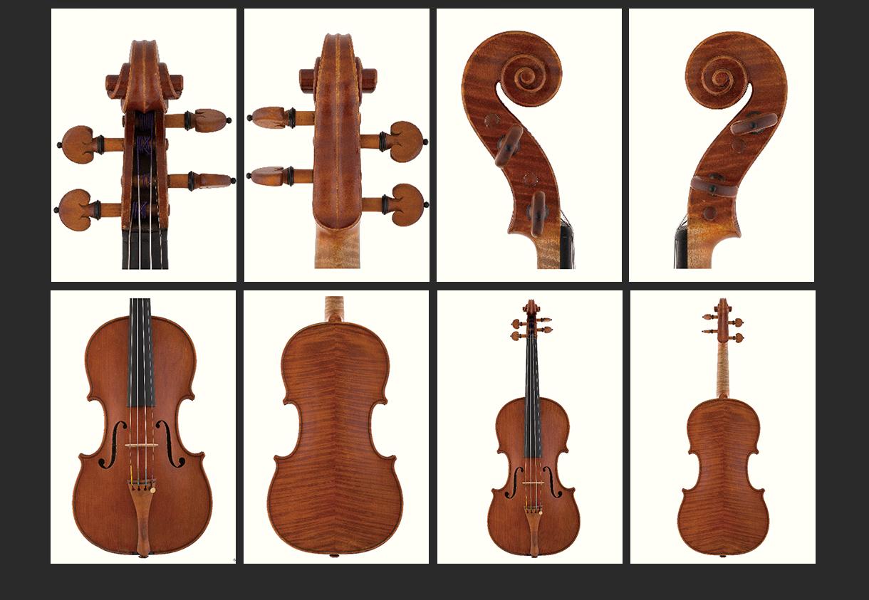 当代12位优秀小提琴制作家 扬·巴普蒂斯塔·斯皮德轮 作品