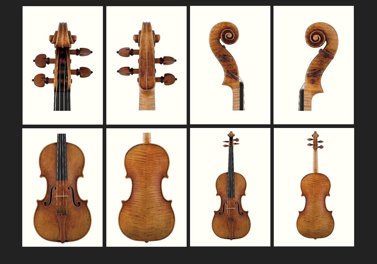 当代12位优秀小提琴制作家 杰夫·菲利普斯 作品