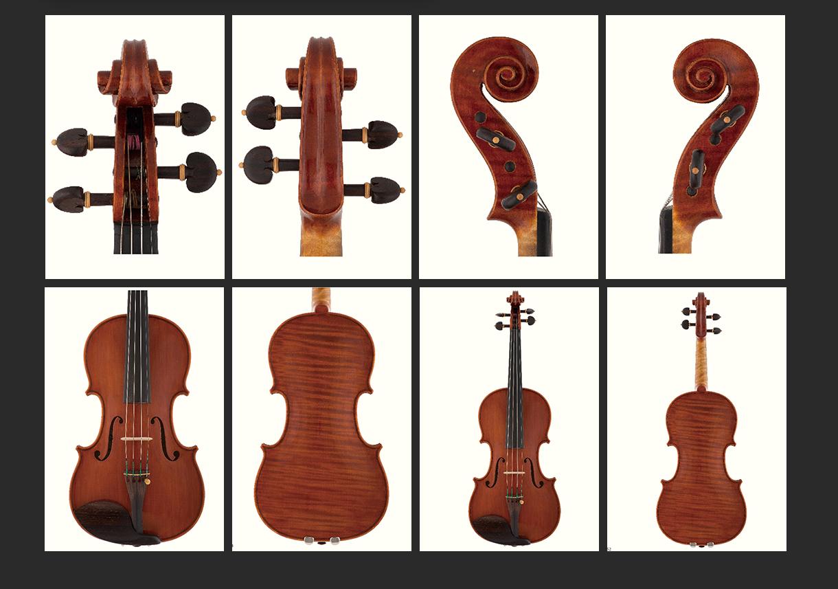 当代12位优秀小提琴制作家 西梅欧奈·莫拉西 作品