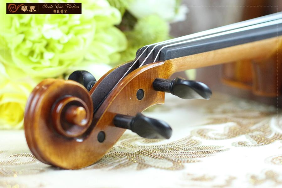 曹氏提琴 7/8女式琴/坤琴 细节展示