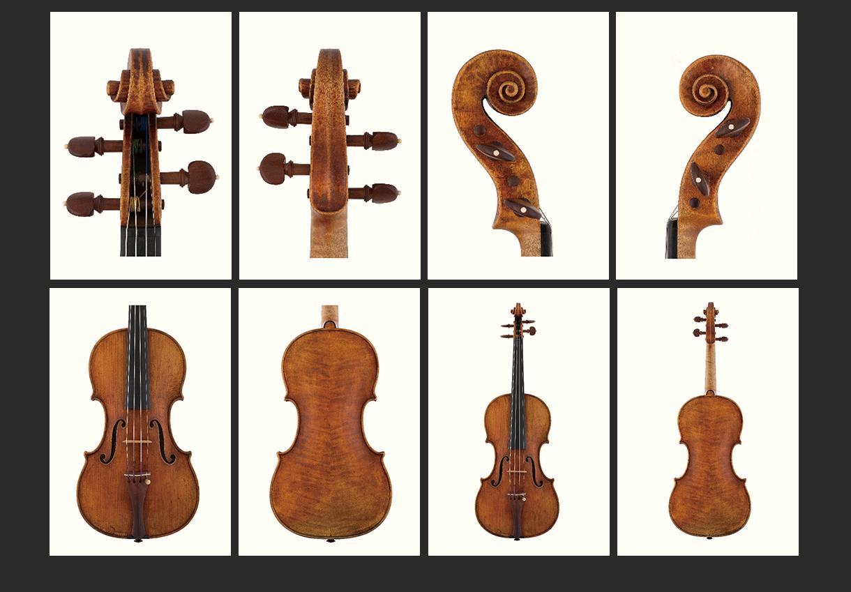 当代12位优秀小提琴制作家 萨缪·兹格姆托维奇 作品