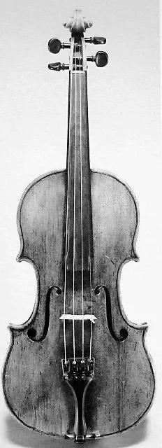 Nicolò Gagliano, Violin, Naples, 1770