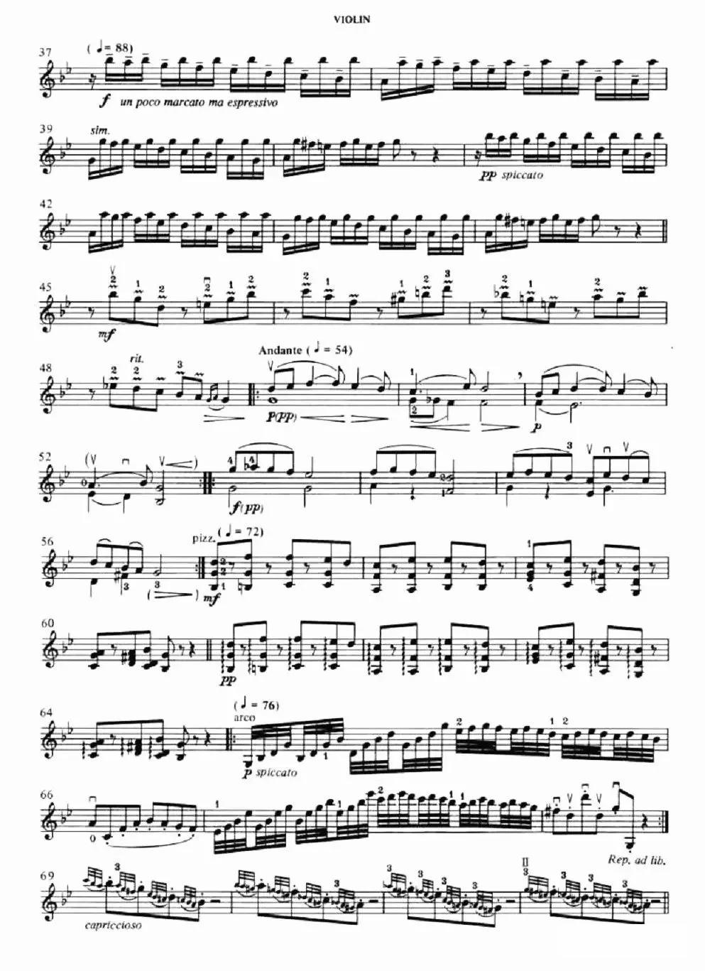 《帕萨卡利亚》二重奏