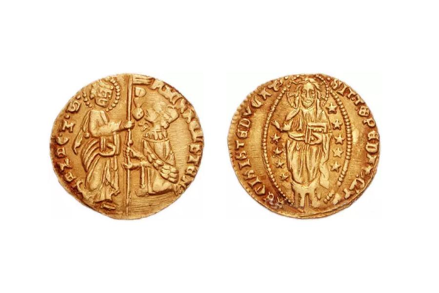 威尼斯金币实物图