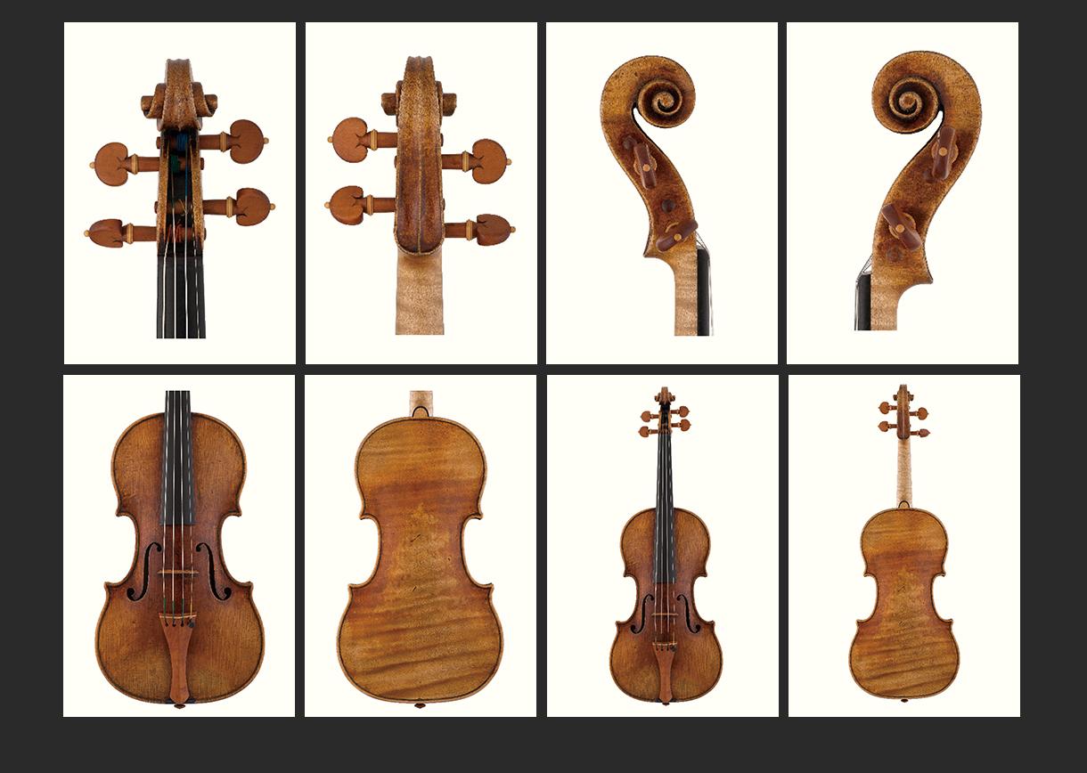 当代12位优秀小提琴制作家 斯蒂芬·冯·巴伦 作品