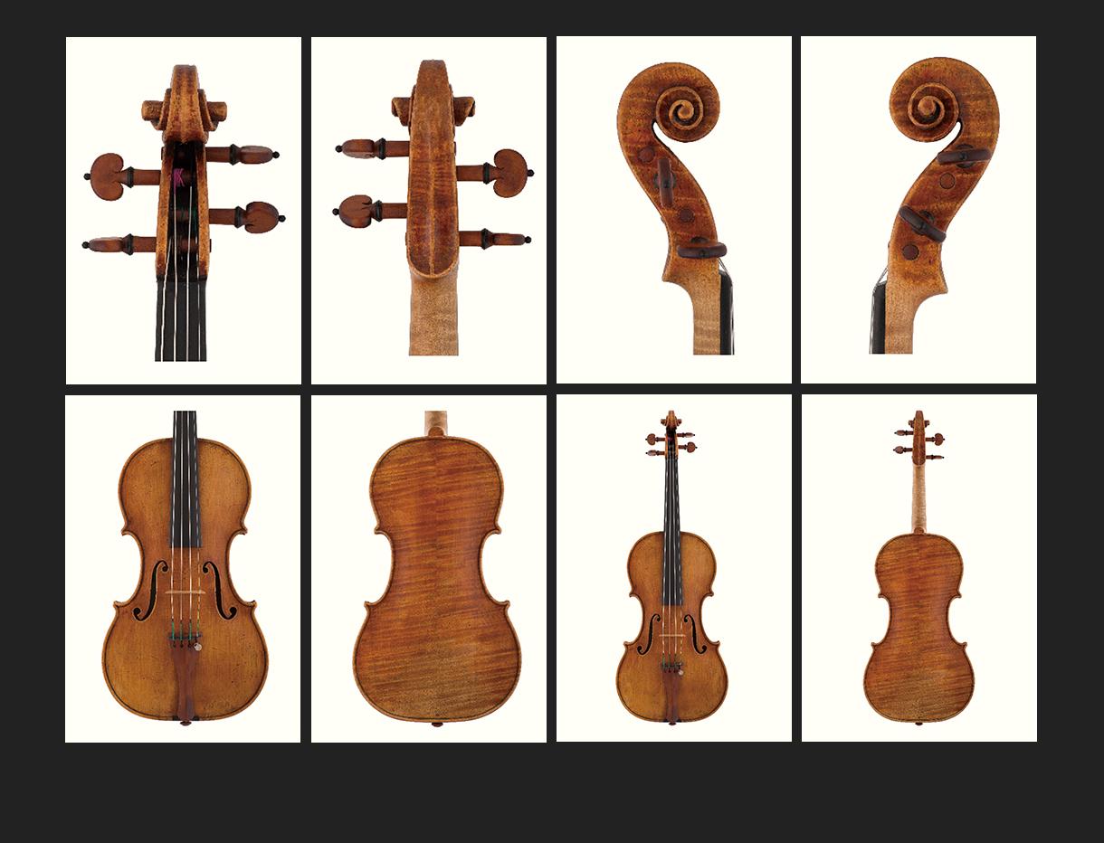 当代12位优秀小提琴制作家 格雷格·阿尔夫作品