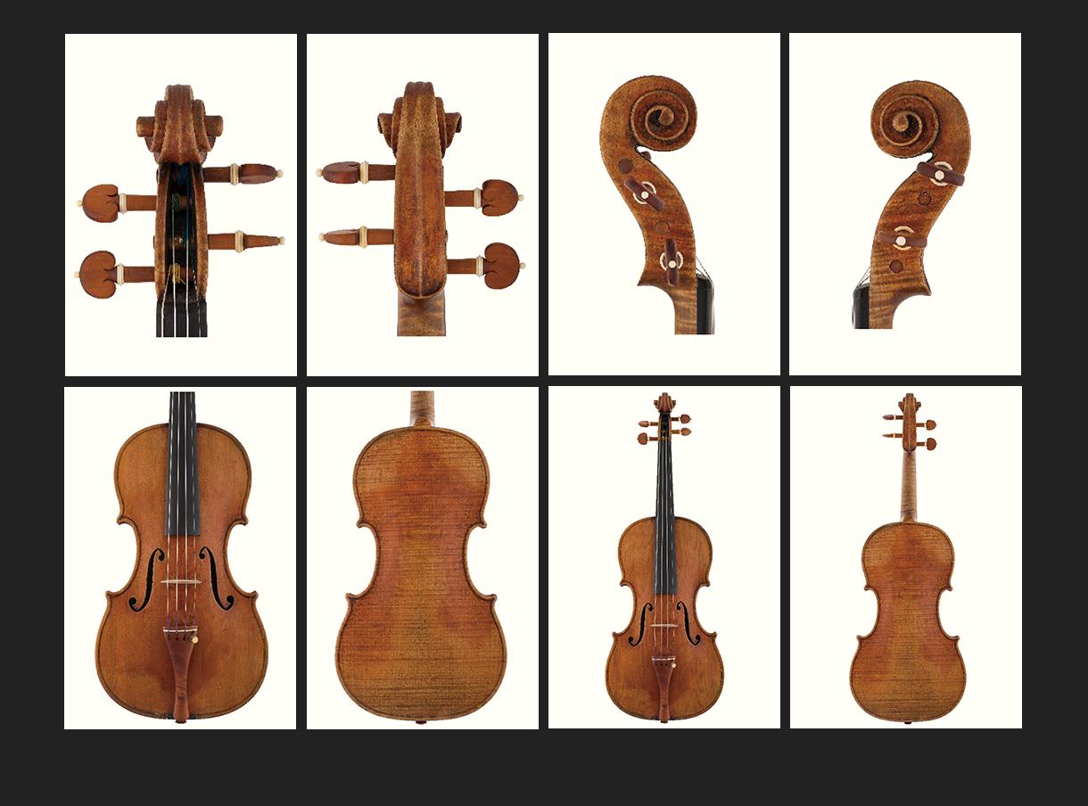 当代12位优秀小提琴制作家 斯特凡·彼得·格雷纳 作品
