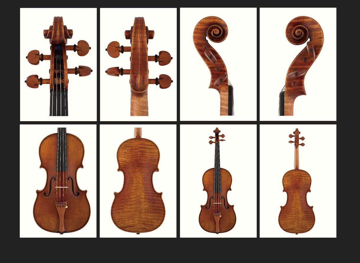 当代12位优秀小提琴制作家 曹树堃提琴作品