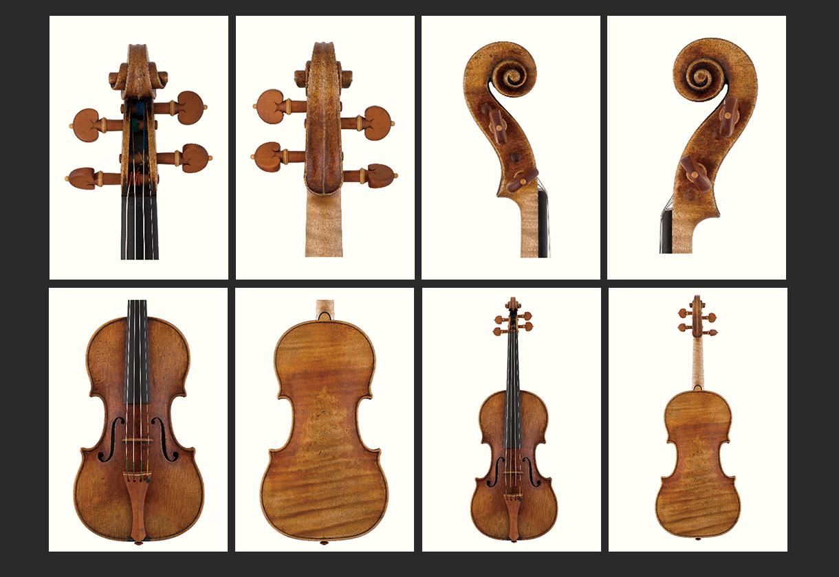 当代12位优秀小提琴制作家 约瑟夫·柯廷 作品