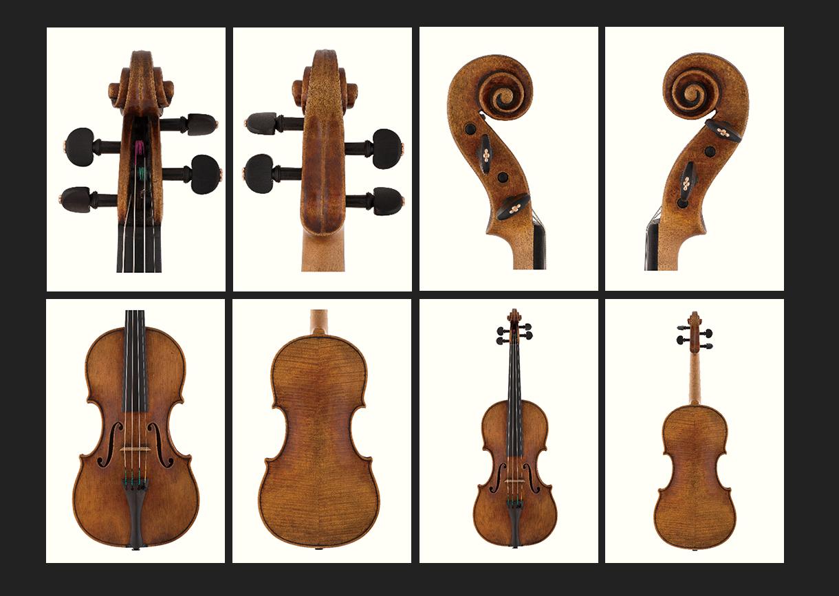 当代12位优秀小提琴制作家 弗洛瑞安·莱昂哈德 作品