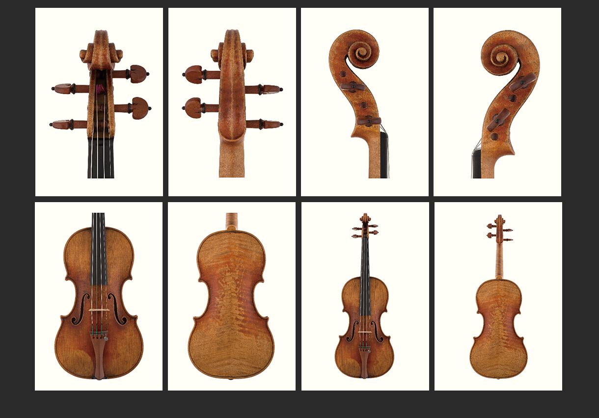 当代12位优秀小提琴制作家 江峰 作品