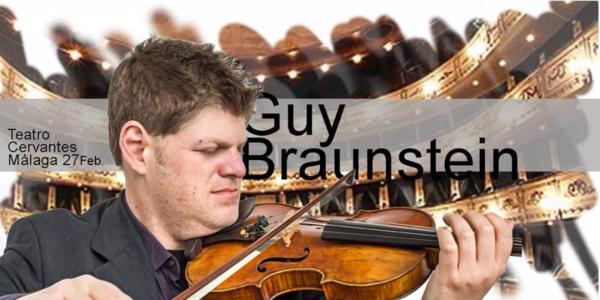 柏林爱乐乐团的首席演奏家最年轻的小提琴手Guy Braunstein
