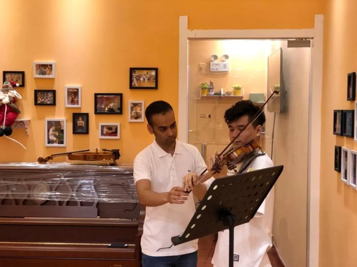 小提琴外教课