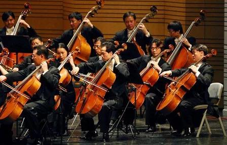 大提琴乐队演奏
