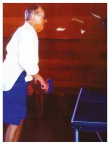 Heifetz打乒乓