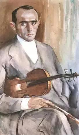 小提琴家Pawel Kochanski的画像