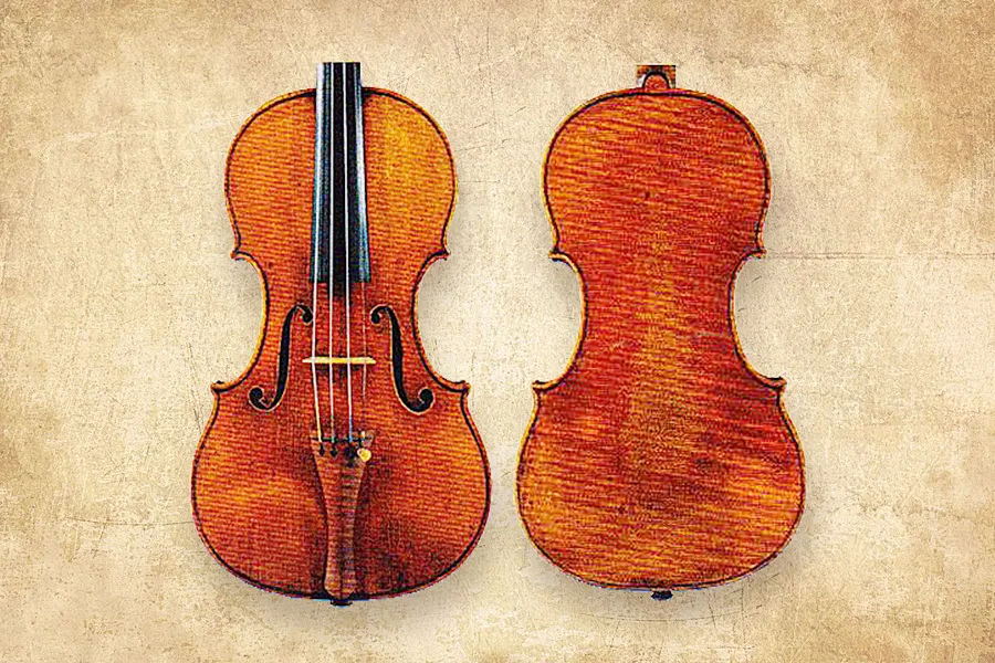 """瓜内利:小提琴""""帕莱顿"""",1735年"""