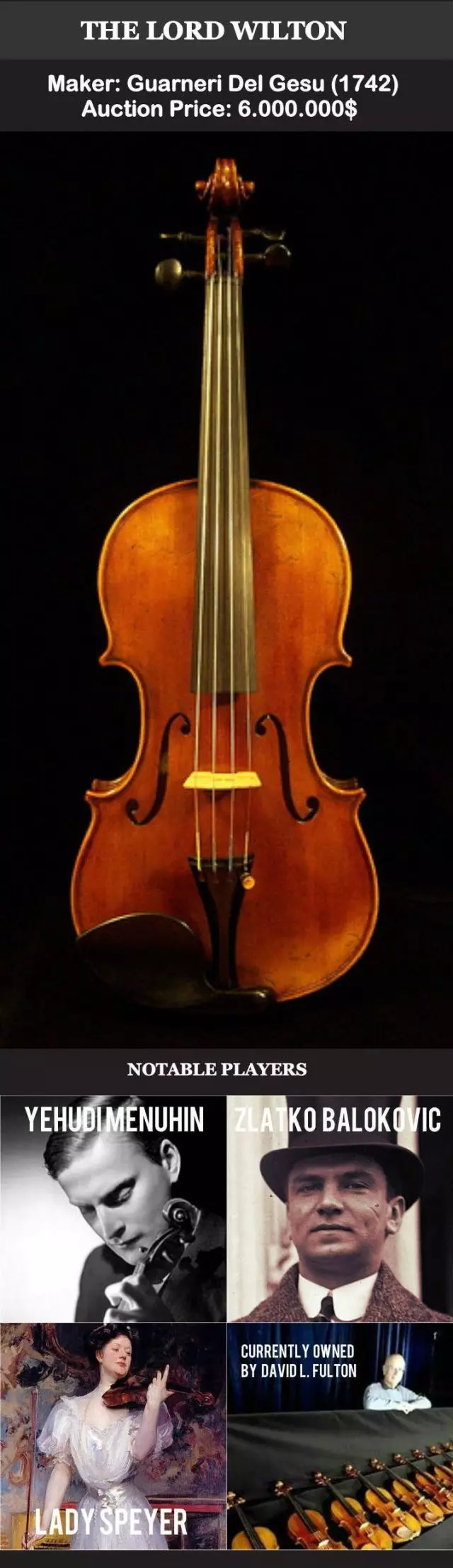 Wilton小提琴