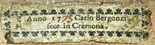 卡洛‧白贡齐(Carlo Bergonzi,1683-1747)